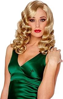 Costume Culture Women's Retro Glam Deluxe Wig