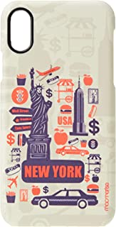 Macmerise IPCIXSPMI0372 City of New York - Pro Case for iPhone XS - Multicolor (Pack of1)