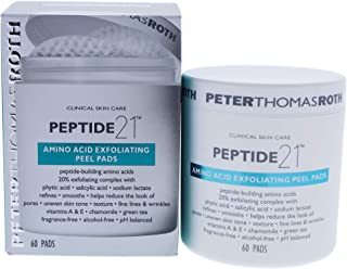 Peter Thomas Roth Peptide 21 Amino Acid Exfoliating Peel Pads By Peter Thomas Roth for Unisex - 60count Pads, 60count