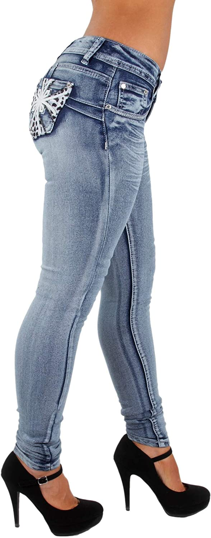 Colombian Design Butt Lift Levanta Max 77% OFF Plus Denim Skinny Jeans Cola Surprise price