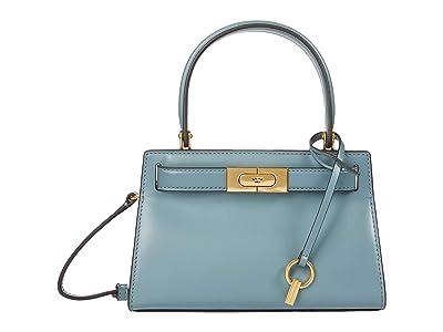 Tory Burch Lee Radziwill Petite Bag (Polar Sky) Cross Body Handbags