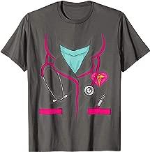 Cool Nurse Uniform Halloween Costume | Funny Lazy DIY Gift T-Shirt