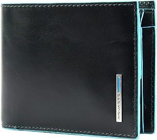 Portafoglio Piquadro blue square portamonete PU4518B2R ve6 verde foresta