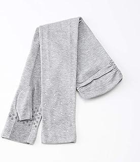 [ヨークス] UV手袋 UVカット ロング丈50cm 高遮蔽率 指無し すべり止め付 掌メッシュ 裾がずり落ちにくいタイプ