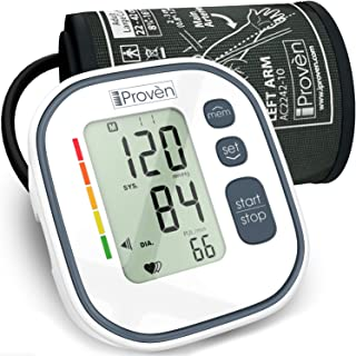 FDA Blood Pressure Monitor Upper Arm - Home Blood Pressure Machine - Digital Blood Pressure Monitor