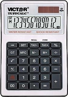 "Victor 99901 TuffCalc Calculator, White, 1.8"" x 4.6"" x 6.5"""
