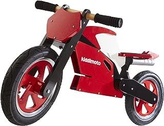 Kiddimoto Balance Bike - Superbike Wooden (Ages 2-5)