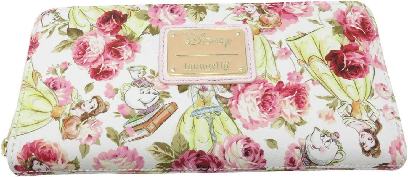 Loungefly Disney Beauty The Beast Peony Belle Pink Mrs. Super special price Max 83% OFF Potts