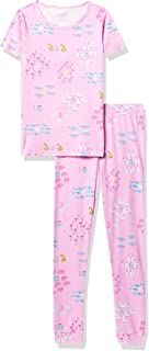 The Children's Place Baby And Toddler Girls Counting Snug Fit Cotton Pajamas