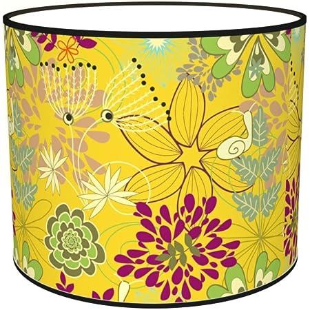 Abat-jours 7111304368475 Imprimé Gica Lampe de Chevet, Tissus/PVC, Multicolore