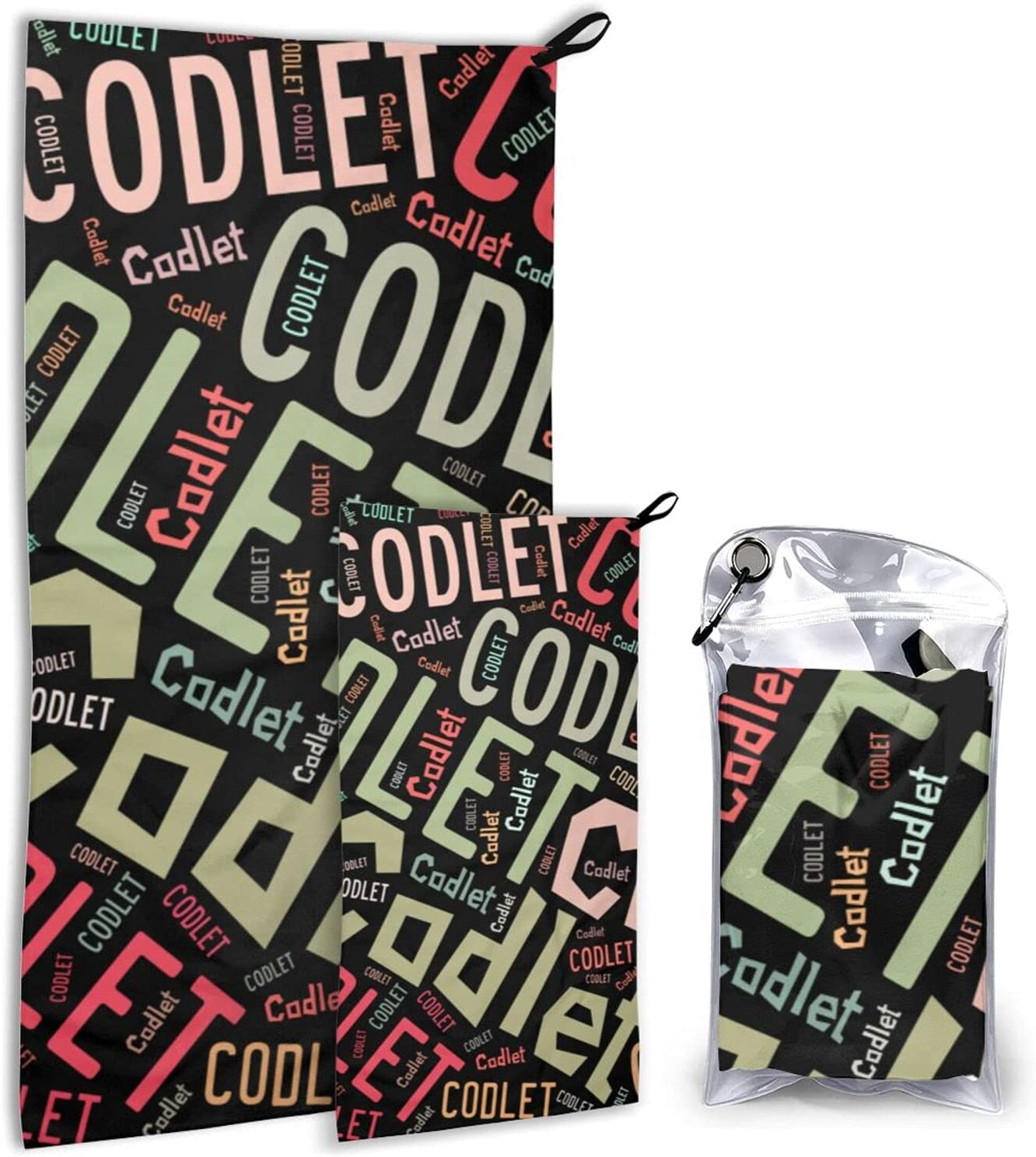 Fish Name Codlet Quick-Drying Cheap SALE Start Towel Superfine Home Cheap mail order sales Set Fiber Use