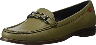 MARC JOSEPH NEW YORK Womens Genuine Leather Chain Detail Park Ave South Loafer womens Loafer
