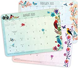"Geninne Zlatkis 2020 - 2021 Desk Pad Calendar (17-Month Aug 2020 - Dec 2021, 18.75"" x 13.5"")"