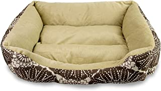 Sleeping Beast Premium Pet Bed Lounge for Dog Cat Bolster Pillow Cushion 100% Polyester Super Soft and Cozy