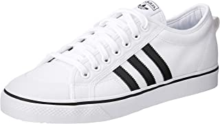 adidas Originals Nizza Shoes 5.5 B(M) US Women / 4.5 D(M) US White Black