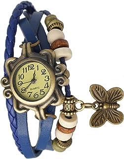 Alkh Analogue Yellow Dial Girl's & Women's Watch - PIX-DORI-BLU