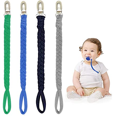 US Navy Pacifier clip//teething toy clip