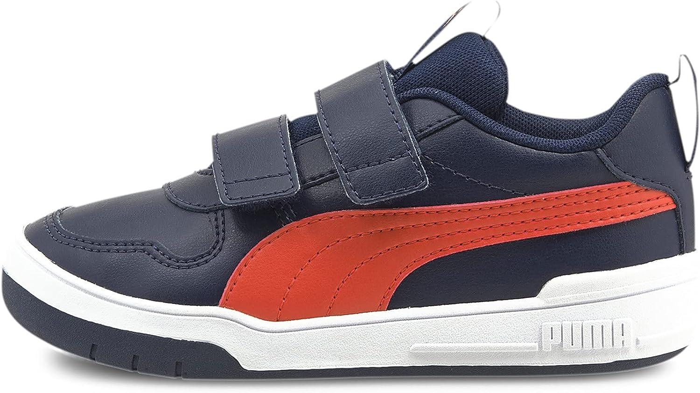 PUMA Unisex-Child Multiflex Hook and Loop Sneaker