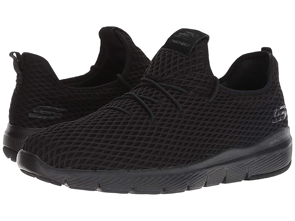 SKECHERS Flex Advantage 3.0 Brightbro (Black/Black) Men