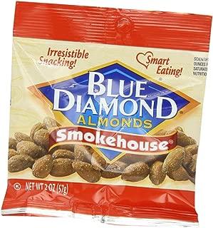 Blue Diamond Almonds, Smokehouse, 2 Ounce (Pack of 12)