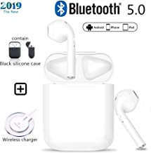Wireless Earbuds Bluetooth 5.0 3D Stereo Noise Reduction IPX5 Waterproof Pop-up Window Auto Paired Built-in Charging Box Fast Charging for Apple Airpods 2/of Airpod Sports Earphones