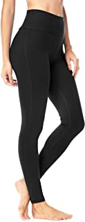 QUEENIEKE Women's Yoga Pants Power Flex Mid-Waist Sports Leggings Tummy Control Workout Pants with Pocket for Running Fitness Yoga