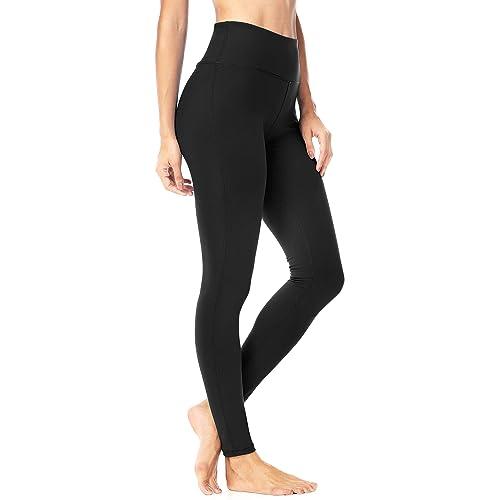 f4684c44fd7c82 Queenie Ke Women Power Stretch Plus Size High Waist Yoga Pants Running Tights  Size M Color