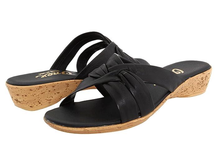 Onex Sail (Black) Women's Wedge Shoes