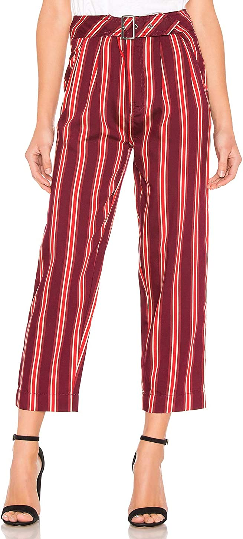 Free People Womens Seemed Like Stripe Casual Cropped Pants