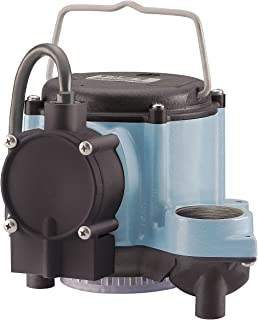 Little Giant 6-CIA Submersible Sump Pump, 115V, 50/60 Hz