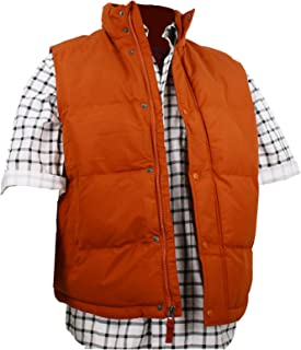 Largemouth Men's Marty McFly Puffer Vest Rust
