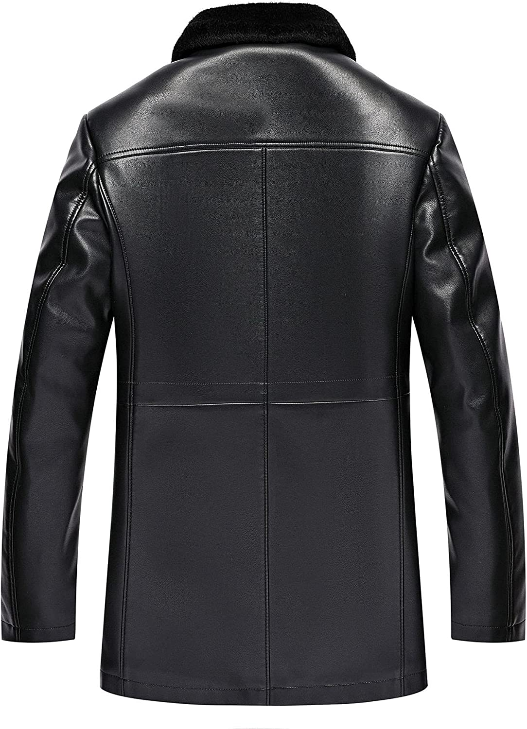 Leather Jackets For Men Carcoat Style Shearling Jacket
