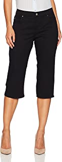 LEE Women's Petite Relaxed-Fit Capri Pant