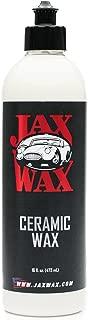 Jax Wax Silica Ceramic Wax – Car Detailing, 16oz