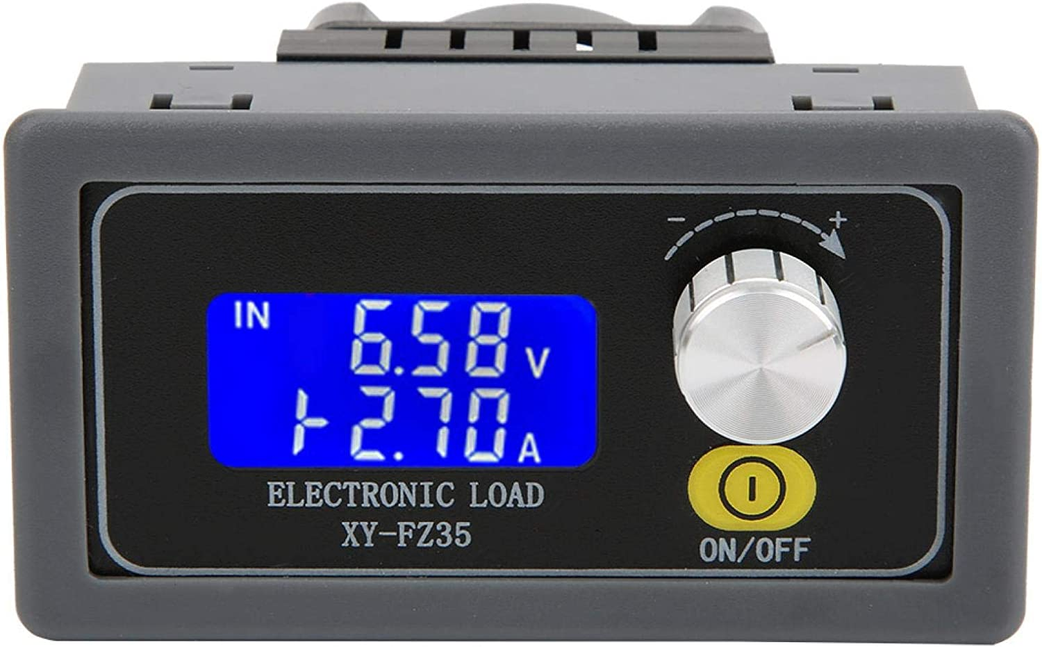 Battery Tester, Constant Load Meter, Battery Balancer, for Constant Current Electronic Load Aging(5A/35W)