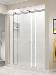 Basco RTLH05B5270CLBN sliding shower door 48 to 52 in, Brushed Nickel