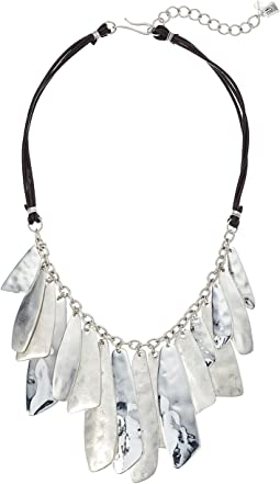 Robert Lee Morris - Silver Shaky Frontal Necklace