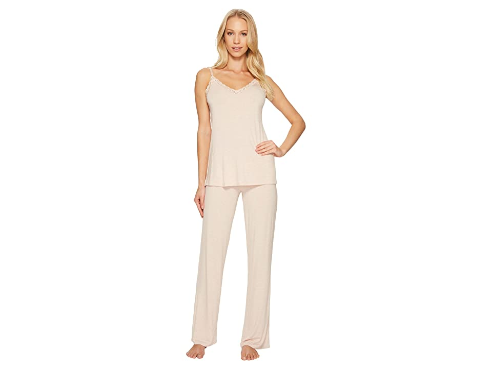 Natori Feathers Cami Pajama (Heather Cameo Rose) Women