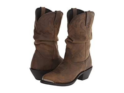 Durango 11 Slouch Boot (Tan) Women