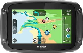 TomTom Rider 500 - GPS para motocicletas, 4.3 pulgadas con carreteras montañosas, actualizaciones mediante Wi-Fi, compatible Siri y Google Now, Traffic y Radares de tráfico para toda la vida, 49 mapas