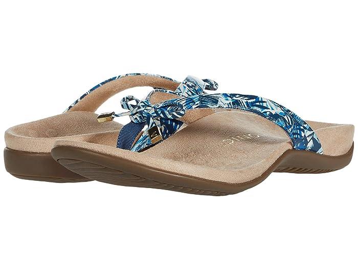 VIONIC  Bella II (Blue Palm) Womens Sandals
