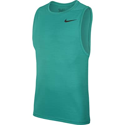 Nike Superset Top Tank (Neptune Green/Black) Men