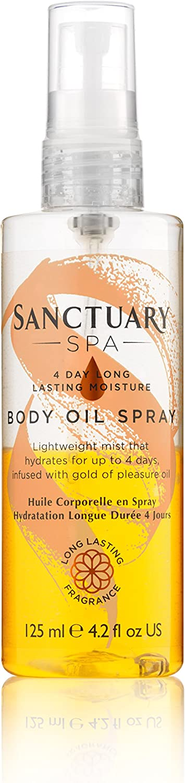 Sanctuary Spa Body Fees free!! Spray Moisturiser 4-Day Long Oil Max 50% OFF