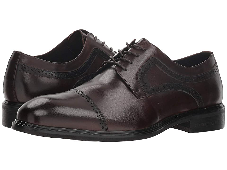 Kenneth Cole New York Davis Lace-Up (Brown) Men