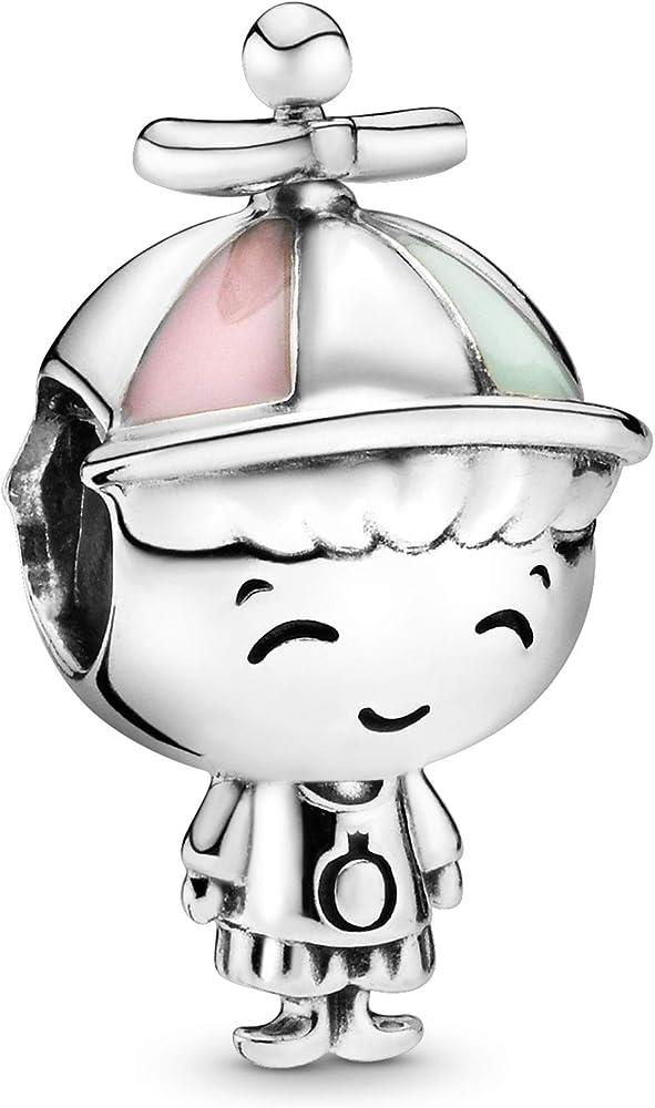 Pandora ciondolo bead charm donna in  argento stearling 925 798015ENMX