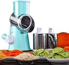 HUADEYIPicadora de Verduras Manual Máquina Multifuncional