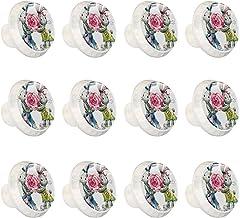 "12 Pack Ronde Keukenkast Knoppen Trekt (1-37/100"" Diameter) - Schattig Konijn Aquarel Valentines - Dressoir Lade/Deur Hard..."