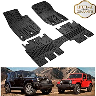 Best jeep wrangler tj floor mats Reviews