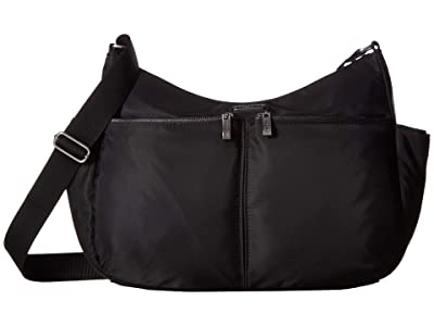 Baggallini West Village Hobo (Black) Handbags