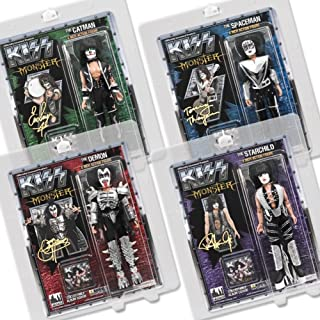 KISS 8 Inch Action Figures Series Four Monster: Set of all 4